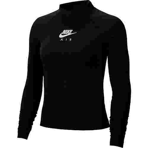 Nike NSW Air Langarmshirt Damen black-white