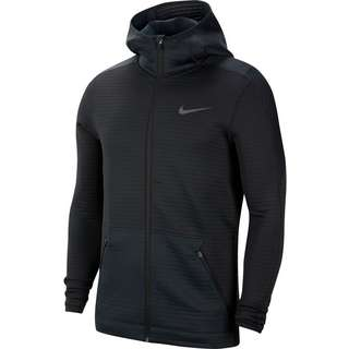 Nike Pro Trainingsjacke Herren black-black-iron grey