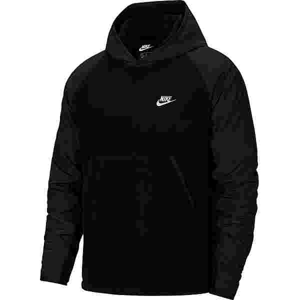 Nike NSW Fleecehoodie Herren black-white