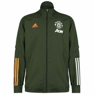 adidas Manchester United Trainingsjacke Herren weiß / schwarz