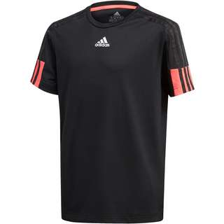 adidas AEROREADY Funktionsshirt Kinder black/signal pink