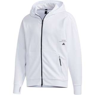 adidas AERO Sweatjacke Herren white