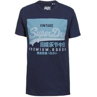 Superdry T-Shirt Herren nautical navy