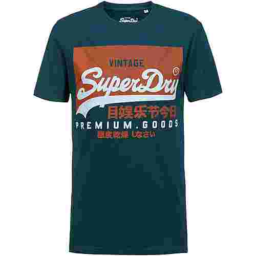 Superdry T-Shirt Herren pine green