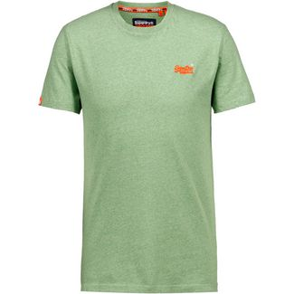 Superdry T-Shirt Herren shamrock green grit