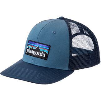 Patagonia P-6 Logo Cap pigeon blue