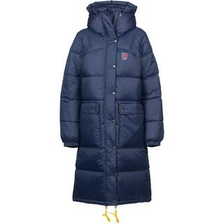 FJÄLLRÄVEN Expedition Long Daunenmantel Damen navy