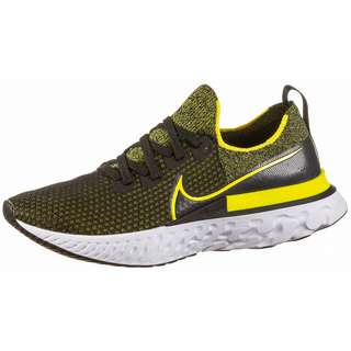 Nike REACT INFINITY Laufschuhe Herren black-sonic yellow-white-anthracite