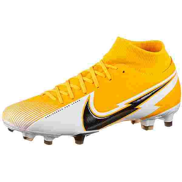 Nike Mercurial Superfly 7 Academy MG Fußballschuhe laser orange-black-white-laser orange