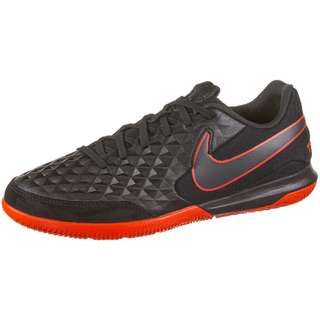 Nike Tiempo Legend 8 Academy IC Fußballschuhe black-dk smoke grey-chile red