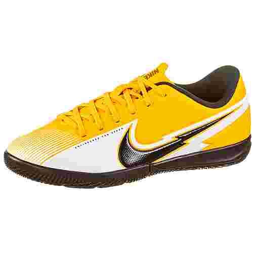 Nike Jr. Mercurial Vapor 13 Academy IC Fußballschuhe Kinder laser orange-black-white-laser orange