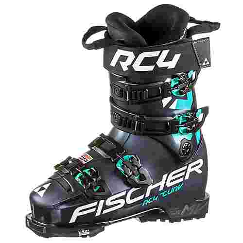 Fischer RC4 THE CURV 105 VACUUM WALK Skischuhe Damen blue