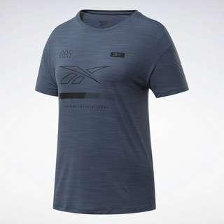 Reebok ACTIVCHILL Graphic T-Shirt Funktionsshirt Damen Blau