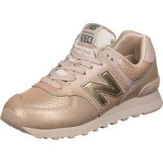 NEW BALANCE 574 W Sneaker Damen pink/kupfer