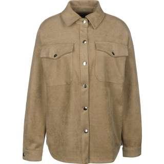 Urban Classics Classic Kurzarmhemd Damen braun