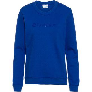 Columbia Logo Sweatshirt Damen lapis blue