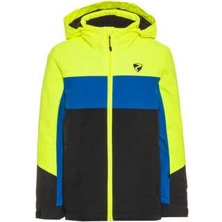 Ziener Pelin Skijacke Kinder poison yellow