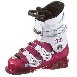Salomon T3 RT Skischuhe Kinder rose violet translucent