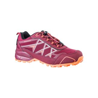 Endurance TRECK W WATERPROOF Trailrunning Schuhe Damen 4136 Tibetan Red