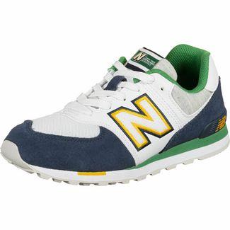 NEW BALANCE GC574 M Sneaker Kinder weiß/blau