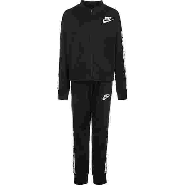 Nike Sportswear Trainingsanzug Kinder schwarz/weiß