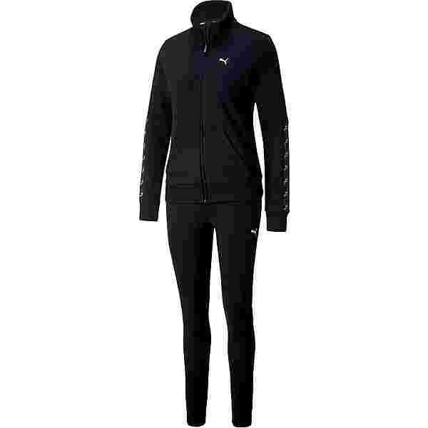 PUMA Amplified Sweat Trainingsanzug Damen puma black