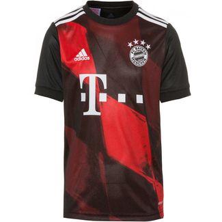 adidas FC Bayern 20-21 3rd Fußballtrikot Kinder black