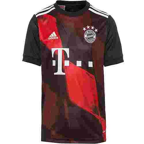 adidas FC Bayern 20-21 3rd Trikot Kinder black