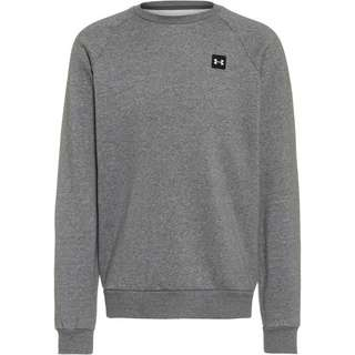 Under Armour Rival Sweatshirt Herren pitch gray light heather-onyx white