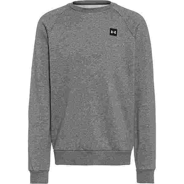 Under Armour Rival Sweatshirt Herren pitch gray light heather-onyx white