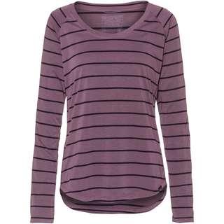 Patagonia Cap Cool Trail Funktionsshirt Damen furrow stripe: hyssop purple