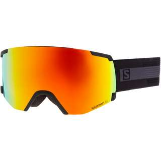 Salomon S/VIEW BkBrand/Uni Mid Red Skibrille black