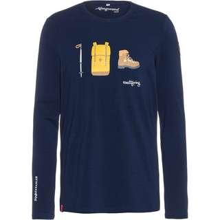 Almgwand TREGLERALM Sweatshirt Herren dunkelblau