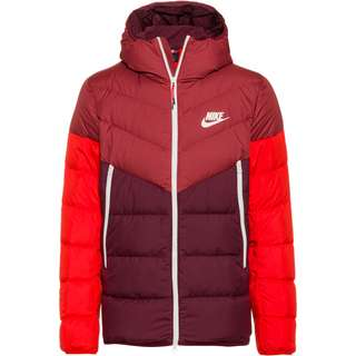 Nike NSW Windrunner Steppjacke Herren cedar-night maroon-habanero red-sail