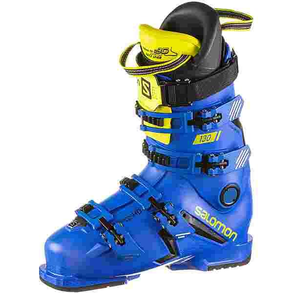 Salomon S/PRO 130 Skischuhe Herren black-race blue