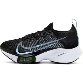 Nike AIR ZOOM Tempo NEXT% Laufschuhe Damen BLACK-GLACIER