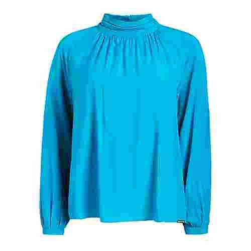 Khujo SALOME Langarmbluse Damen blau