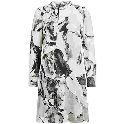 Khujo KIAXA Kurzarmkleid Damen schwarz-weiß gemustert