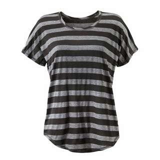 BEACH TIME T-Shirt Damen schwarz