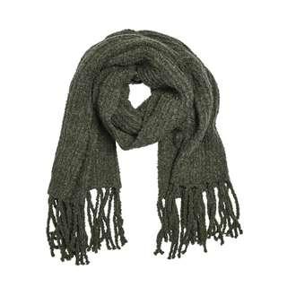 Khujo ANGELICA Schal Damen dunkelgrün