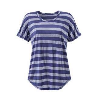 BEACH TIME T-Shirt Damen marine