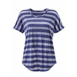 BEACH TIME T-Shirt Damen marine