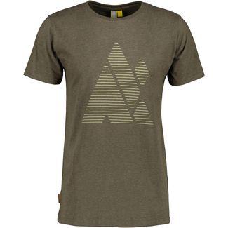ALIFE AND KICKIN LogoAK T-Shirt Herren stone