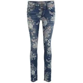 Blue Monkey MARY 10570 Straight Fit Jeans Damen blau