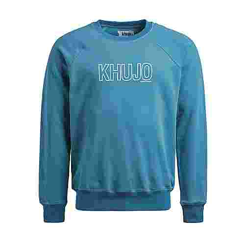 Khujo USTIS OUTLINE Sweatshirt Herren grün