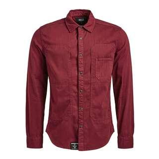 Khujo CAVAN Langarmhemd Herren rot