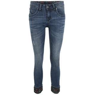 Blue Monkey LAURA 10498 Straight Fit Jeans Damen blau
