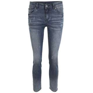 Blue Monkey Honey 10574 Straight Fit Jeans Damen blau