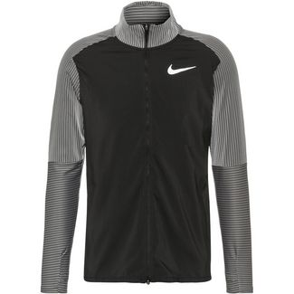 Nike Laufjacke Herren black-reflective silv