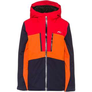 KJUS Rock Skijacke Kinder atlanta blue-scarlet